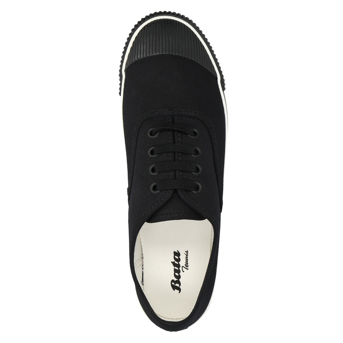 Černé pánské tenisky bata-tennis, černá, 889-6296 - 26