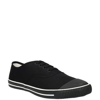 Černé pánské tenisky bata-tennis, černá, 889-6296 - 13