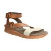 Kožené sandály na výrazné podešvi weinbrenner, hnědá, 566-4627 - 13