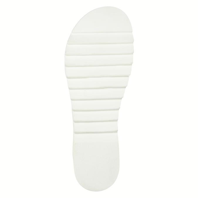 Dámské kožené sandály s propletením weinbrenner, hnědá, 566-4628 - 26