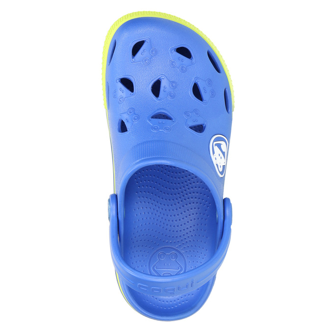 Dětské sandály s žabkou coqui, modrá, 272-9602 - 26