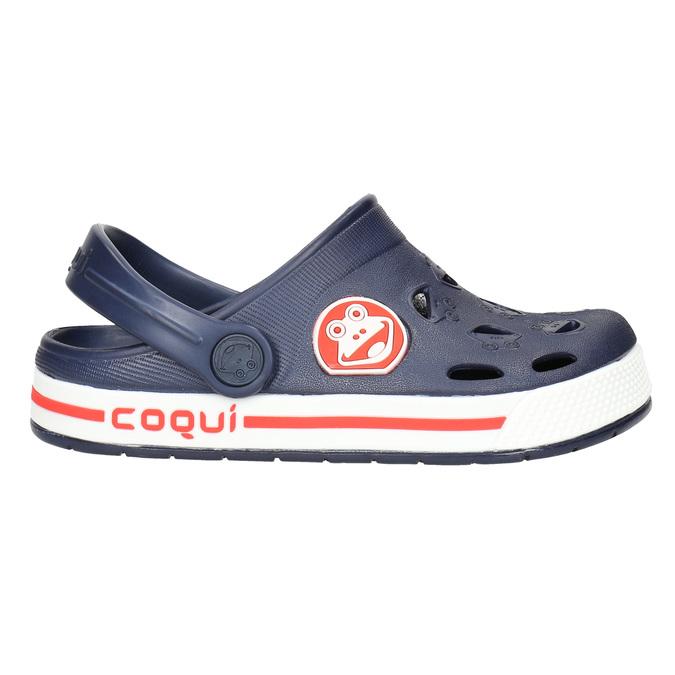 Modré dětské sandály coqui, modrá, 272-9603 - 15