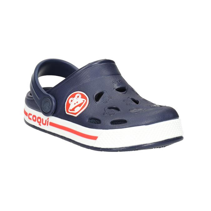 Modré dětské sandály coqui, modrá, 272-9603 - 13