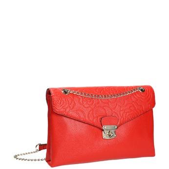 Menší červená kabelka s klopou bata, červená, 961-5731 - 13