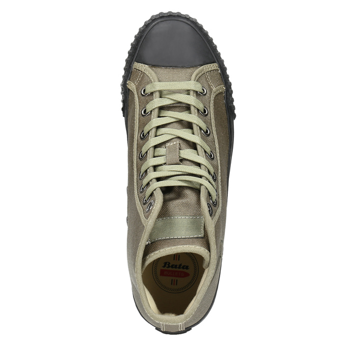 Pánské kotníčkové tenisky bata-bullets, zelená, 889-7143 - 26