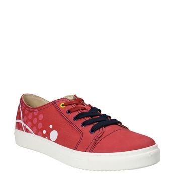 Kožené tenisky z limitované edice bata, červená, 546-5800 - 13