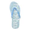 Modré dámské žabky pata-pata, modrá, 572-9601 - 26
