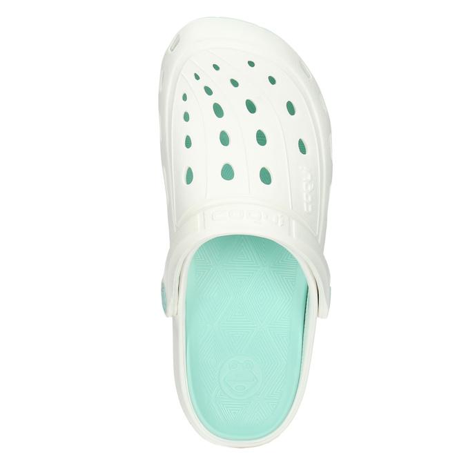 Bílé dámské sandály coqui, bílá, 572-1606 - 26
