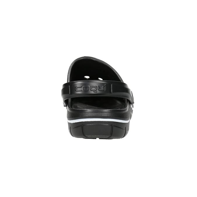 Pánské nazouváky clogs coqui, černá, 872-6614 - 17