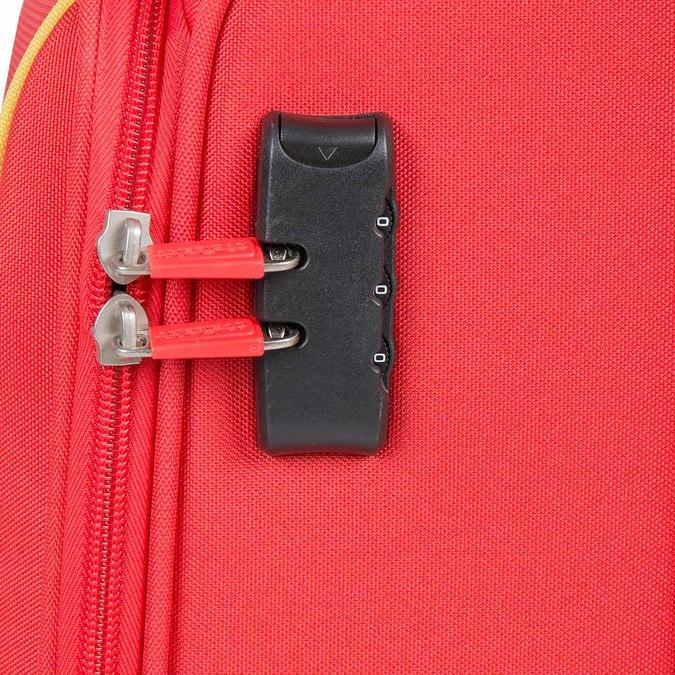 Červený cestovní kufr na kolečkách american-tourister, červená, 969-5172 - 15
