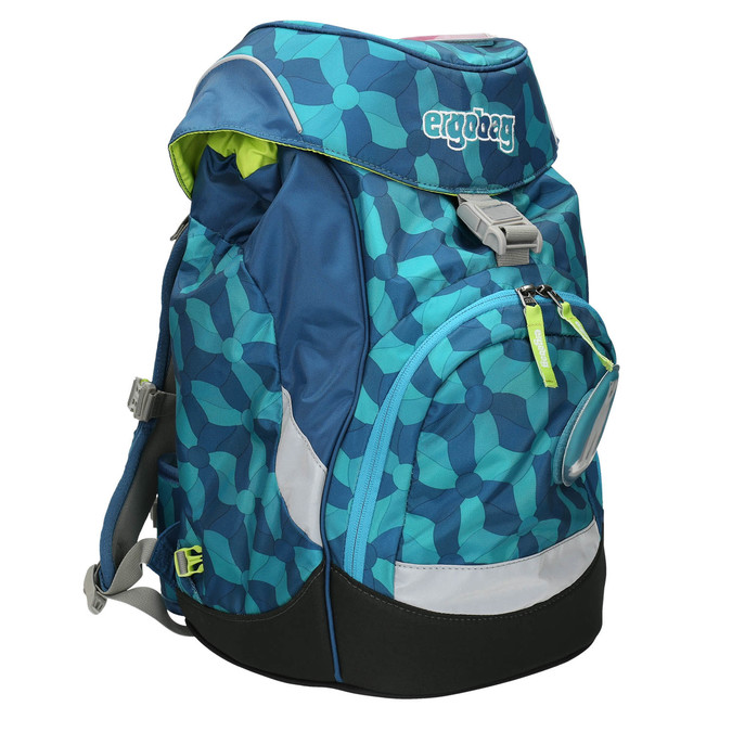 Modrý školní batoh ergobag, modrá, 969-9058 - 13