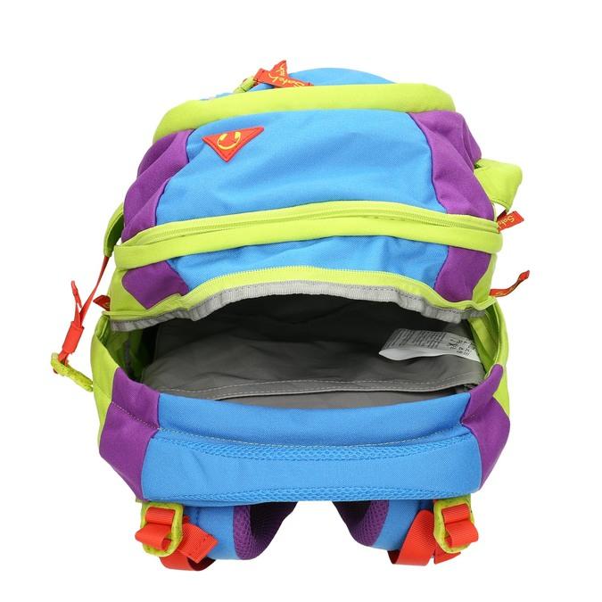 Školní batoh s přezkami satch, zelená, 969-7047 - 15
