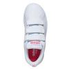 Dívčí tenisky na suché zipy adidas, bílá, 301-1268 - 19