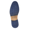 Kožená kotníková obuv se zipem bata, hnědá, 826-3911 - 19