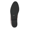 Kožené dámské Loafers bata, červená, 516-5610 - 19