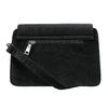 Sametová dámská Crossbody kabelka bata, černá, 969-6662 - 26