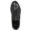 Dámské kožené tenisky bata, černá, 526-6630 - 26