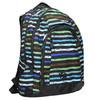Školní batoh s pruhy bagmaster, modrá, 969-9651 - 13