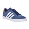 Pánské kožené tenisky adidas, modrá, 803-9197 - 13