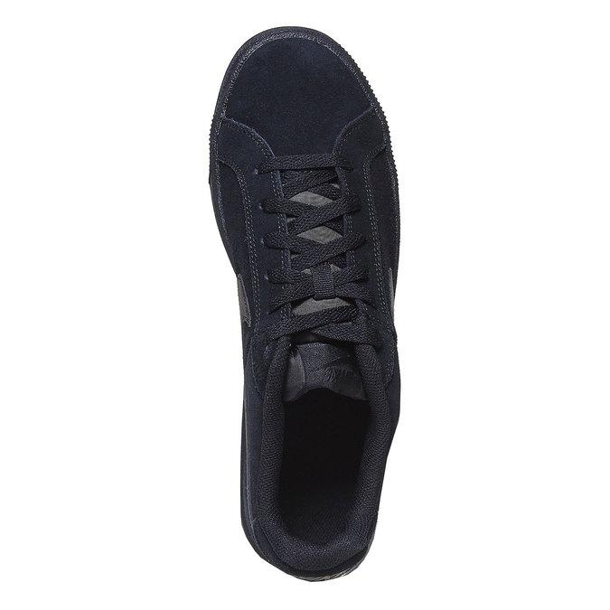 Pánské kožené tenisky nike, černá, 803-6302 - 19
