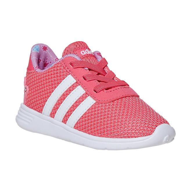 Růžové dívčí tenisky adidas, růžová, 109-5288 - 13