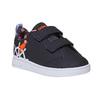 Dětské tenisky s potiskem adidas, černá, 101-6133 - 13