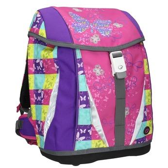 Školní aktovka dívčí bagmaster, růžová, 969-5652 - 13