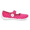 Domácí pantofle s puntíky mini-b, růžová, 379-5214 - 19
