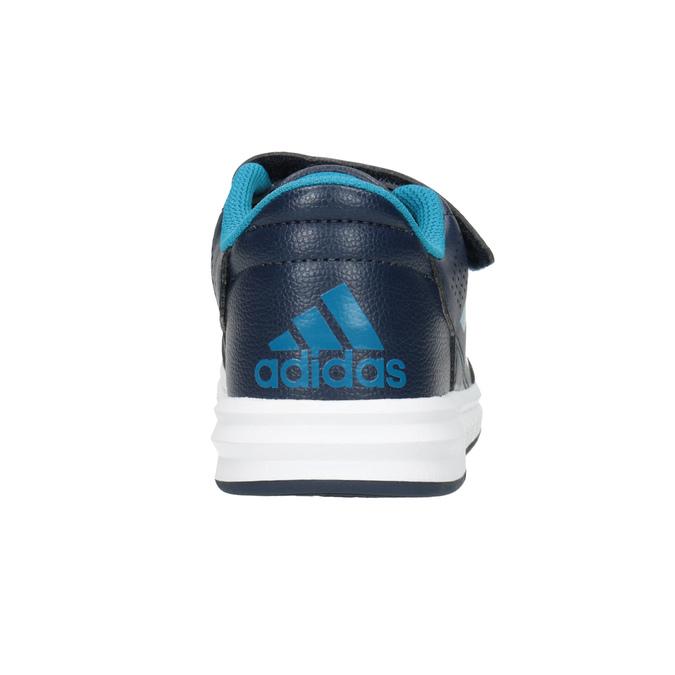 Modré dětské tenisky adidas, modrá, 301-9197 - 16