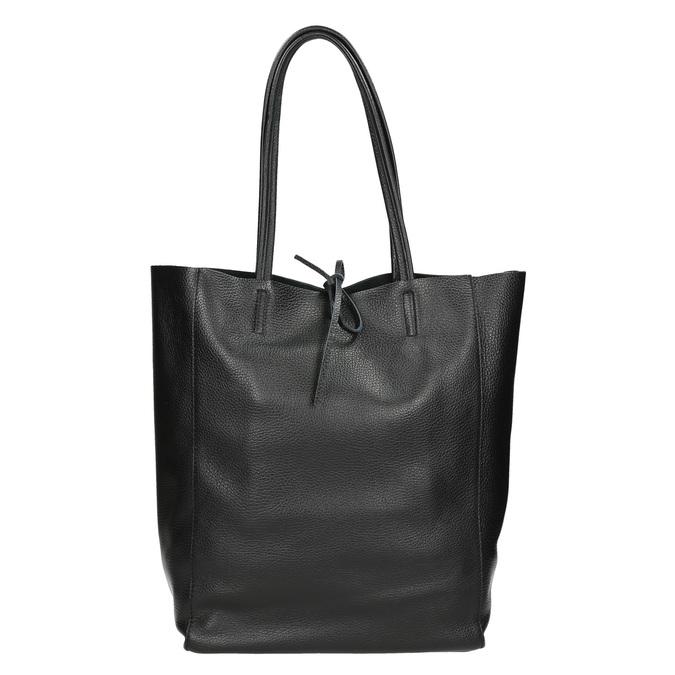 Kožená kabelka v Shopper stylu bata, černá, 964-6122 - 26