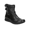 Kožená kotníčková obuv bata, černá, 594-6641 - 13