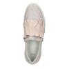 Kožené dámské Slip-on bata, růžová, 516-5614 - 26