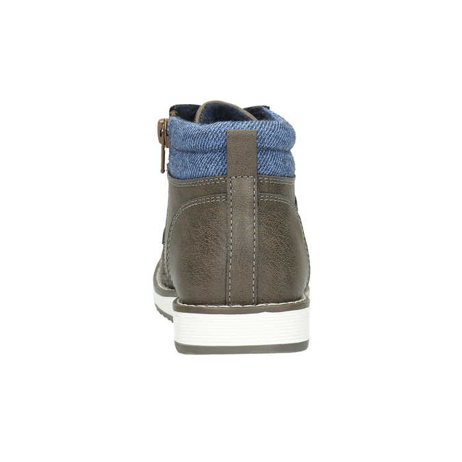 Chlapecká kotníčková obuv mini-b, hnědá, 211-3623 - 17