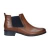 Kožené kotníčkové Chelsea Boots gabor, hnědá, 516-3036 - 26