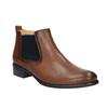 Kožené kotníčkové Chelsea Boots gabor, hnědá, 516-3036 - 13
