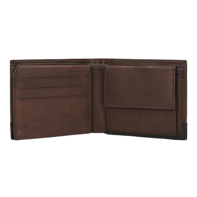 Pánská kožená peněženka bata, hnědá, 944-8149 - 15