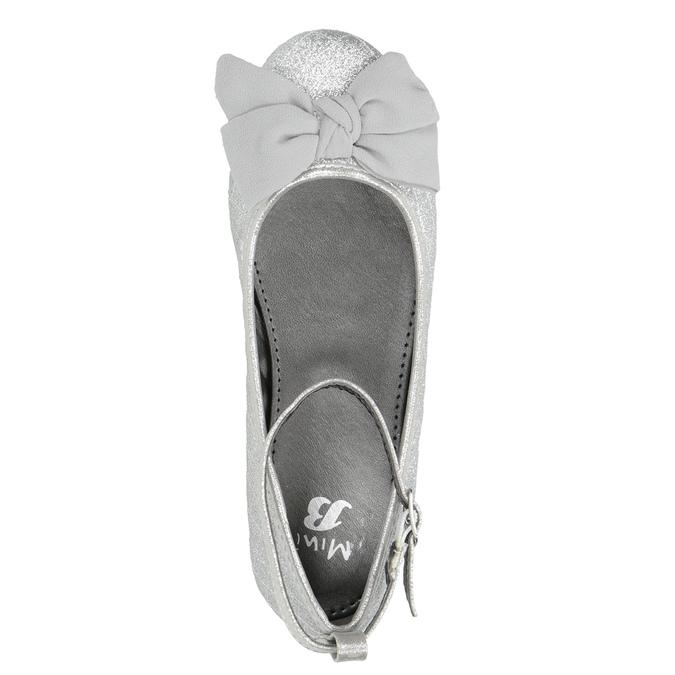 Stříbrné dívčí baleríny mini-b, stříbrná, 329-1286 - 15
