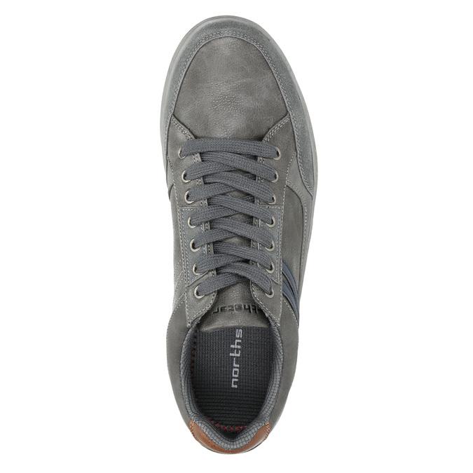 Pánské šedé tenisky north-star, šedá, 841-2607 - 26
