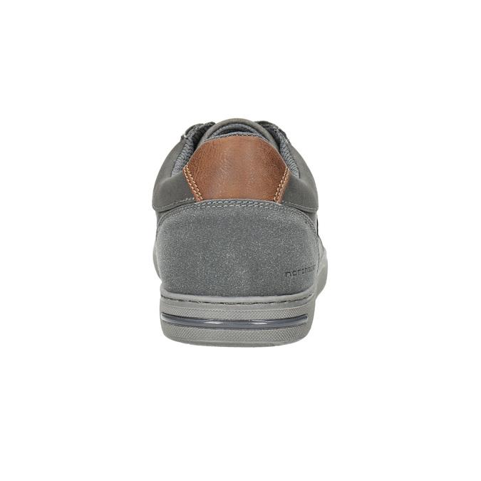 Pánské šedé tenisky north-star, šedá, 841-2607 - 17