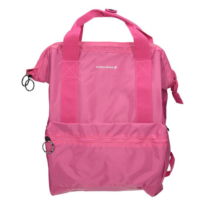 Růžový dámský batoh bjorn-borg, růžová, 969-5023 - 26