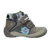 Chlapecká kotníčková obuv bubblegummers, šedá, 111-2618 - 15