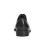 Dámské kožené polobotky s prošíváním bata, černá, 524-6661 - 15