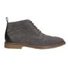 Kožená pánská kotníčková obuv bata, šedá, 823-2615 - 15