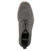 Kožená pánská kotníčková obuv bata, šedá, 823-2615 - 26