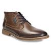 Kožená pánská kotníčková obuv bata, hnědá, 826-4614 - 13