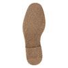 Kožená pánská kotníčková obuv bata, hnědá, 826-4614 - 26