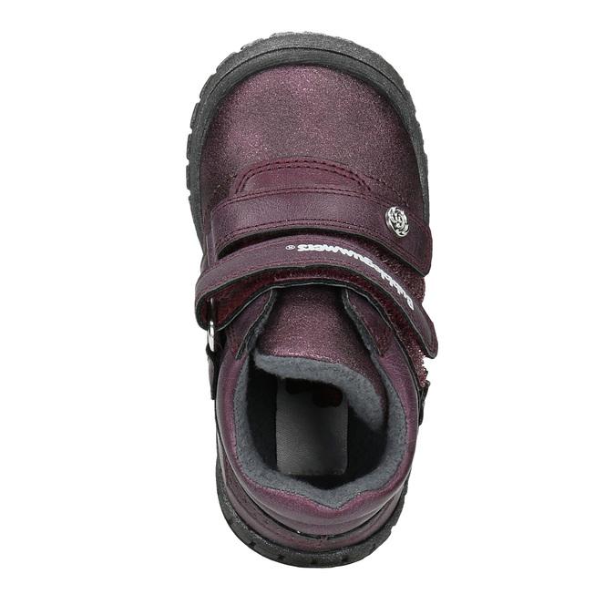 Kotníčková dívčí obuv bubblegummers, fialová, 121-9622 - 19