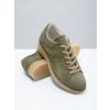 Dámské kožené khaki tenisky bata, zelená, 523-7604 - 19