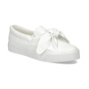 Dámská Slip-on obuv s mašlí north-star, bílá, 511-1606 - 13
