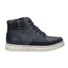 Kotníčková dětská obuv na zip mini-b, modrá, 311-9611 - 15